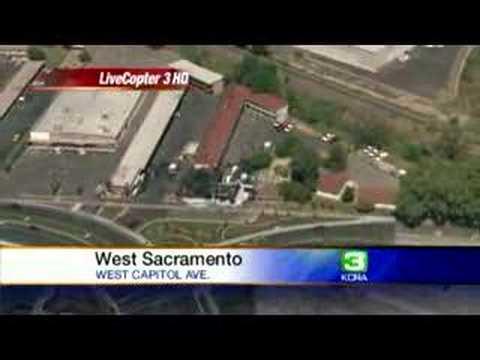 West Sacramento Burns Down Motel