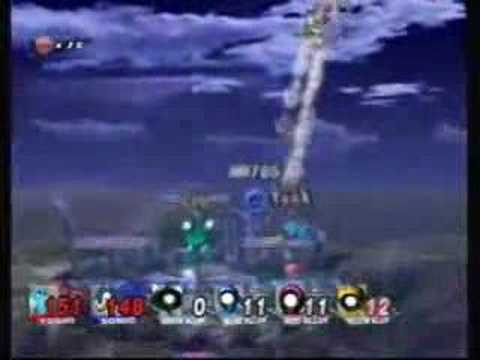 Megaman765 and yeeksta do Endless Multiman brawl