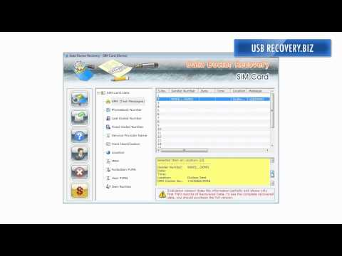 SIM card data recovery software freeware download sim recovery software recover sim card restore