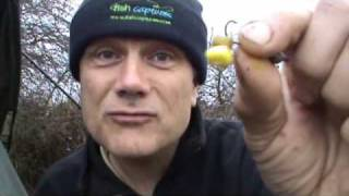 Gravel pit fishing for tench (April 2010)
