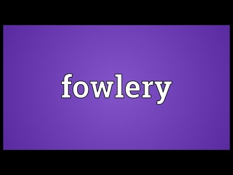 Header of fowlery
