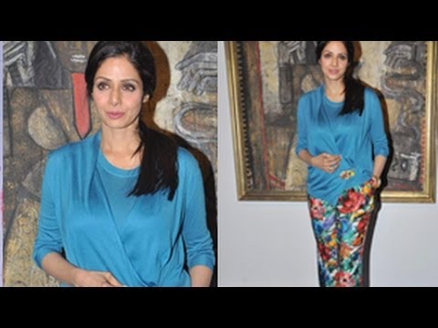 Sridevi's Shocking Young Look! video