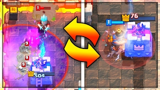 WHO'S GONNA WIN?! Nick vs Molt DRAFT MODE - Clash Royale