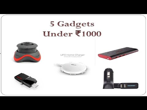 Top 5 Amazing Gadgets under Rs1000 (Hindi) *Must Watch*
