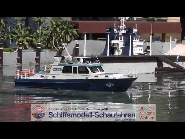 ASK Model Boat Showcase 2013 Trailer - Best RC Boats and Ships of Switzerland