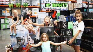 NO BUDGET AT COSTCO!!