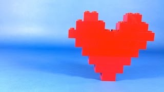 How To Make Lego BASIC HEART  - 10664 LEGO® Bricks and More Creative Tower Tutorial
