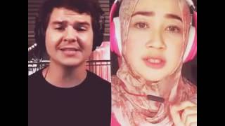 7 years Lukas Graham & Citra Utami - Karaoke duo