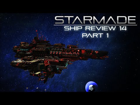 StarMade Ships 14 Part 1 - The Black Mega Yacht