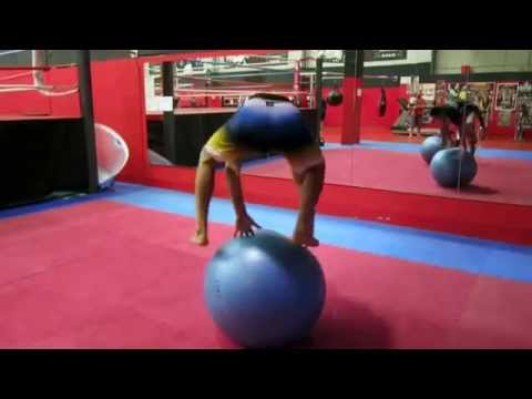 Gymnastic Ball Workouts Swiss Ball Workout For Core