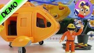 Helikoptéra jako záchranný vrtulník WALLABY 2 | Testujeme hračky | Hraj si se mnou hračky pro děti