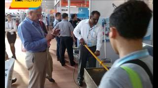 Mortar Mixer ,Wall Plastering machine-Ezrenda attended The 118 th Canton Fair