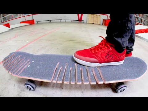 The Worst Possible Skateboard Ever! / Don't Break It!
