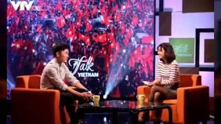 Xuân Trường bảnh như trai Hàn trong 'Talk Vietnam'