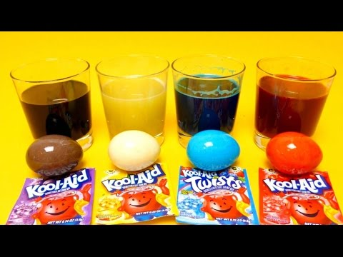 Kool Aid - EASTER Egg Coloring - DIY Cheap Trick - Save Money