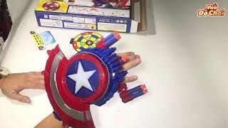 Khiên Captain America Bắn Đạn - Vũ Khí Tối Thượng - Vua Đồ Chơi