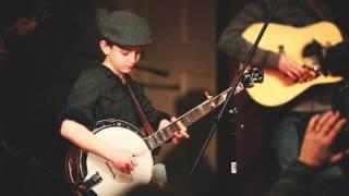 9 Year-old Jonny Mizzone - Shuckin' the Corn Live - Sleepy Man Banjo Boys