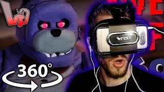Vapor Reacts #255 | [FNAF] Five Nights at Freddy's In Real Life 360 VR - by devinsupertramp REACTION