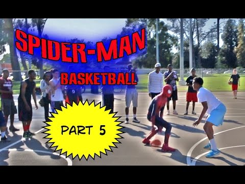 Spiderman Basketball Episode 5