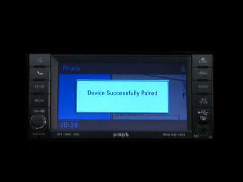 2013 Chrysler Town & Country   Uconnect Phone - Touchscreen Radio