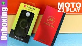 Moto Z3 Play + Nuevo Moto Mod | Unboxing + Opinion | Tecnocat