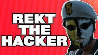 Beating A Wallhack / Aimbot Hacker - Rainbow Six Siege