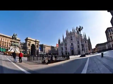 Time Lapse  Turin Venise Milan