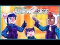 Rainbow Six Siege but we kill our teammates because they
