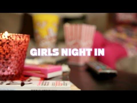 0 ♥ Girls Night In   Black Detox Facial (How To) ♥