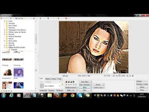 Como fazer uma foto em desenho no PhotoScape