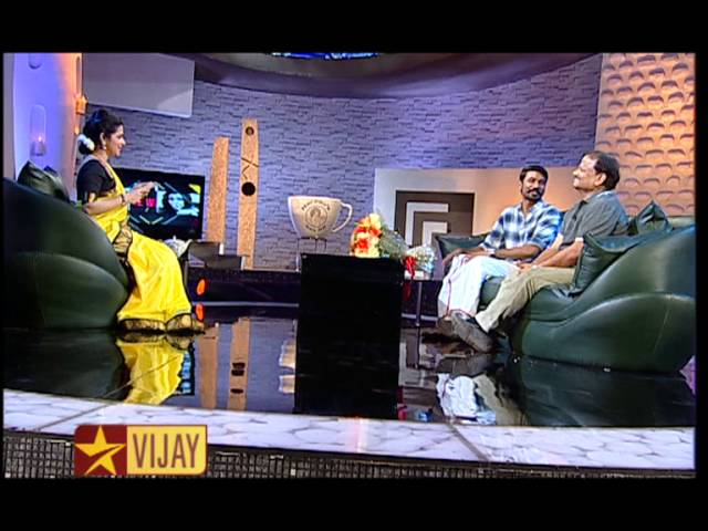 Koffee with DD - Dhanush and K V Anand   22nd February 2015   Promo 5