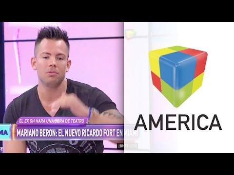 Mariano Berón será Fort en Miami: Si me tengo que besar con un hombre lo haré