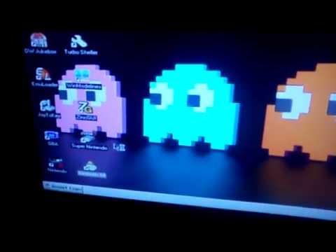 360 Case con PC RetrOS Arcade Media Center, prototipo