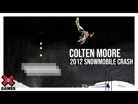 Winter X Games 2012: Colten Moore Crash