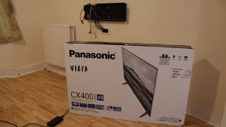 Panasonic CX400 Series TX48CX40B unboxing & review