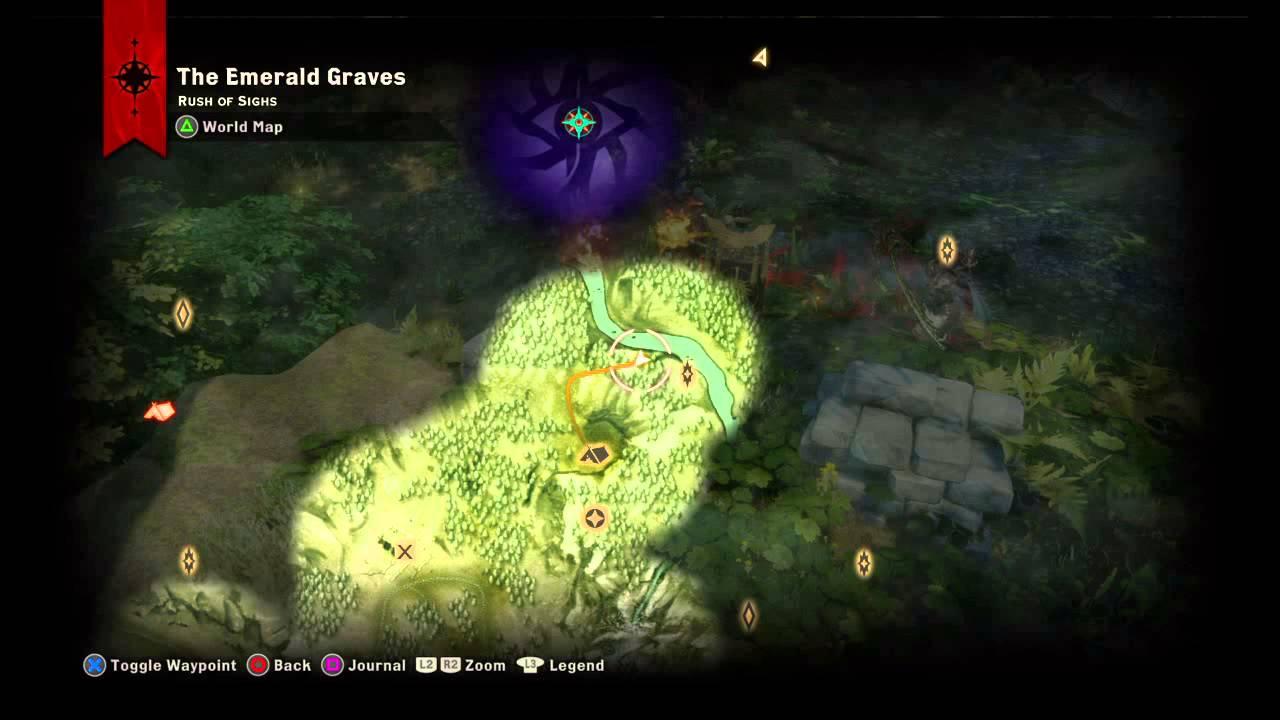 Dragons Map Dragon Age Inquisition Dragon Age Inquisition Emerald