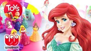 UNBOX | Disney Princess Little Kingdom | Ariel, Belle, Cinderella & More | Toy Store
