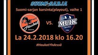 Download Lagu Maalikooste Haukat - Muik Hockey SS-karsinta 24.2.2018 Gratis STAFABAND
