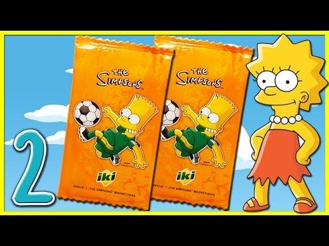 SIMPSONŲ magnetukai iš IKI (#2 serija) (Simpsonai lietuviškai) | Vaiku Kanalas