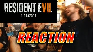 MAX REACTS: Resident Evil 7 Reveal