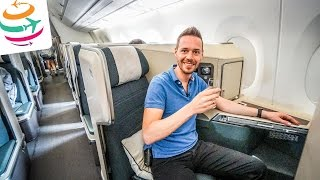 Cathay Pacific NEUE Business Class A350 | GlobalTraveler.TV