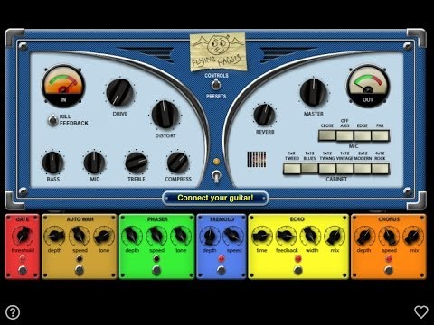 Flying Haggis, Demo For IPad, A Fantastic All In One Guitar Amp And FX