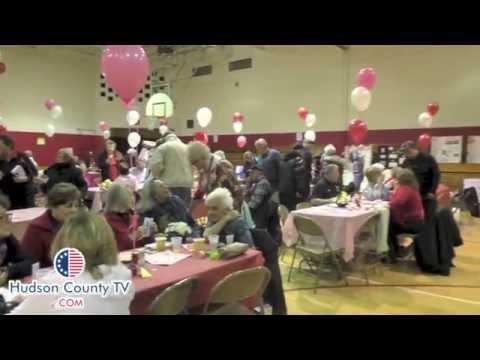 Secaucus 6th Grade Class puts on senior citizen's Valentine's Day breakfast