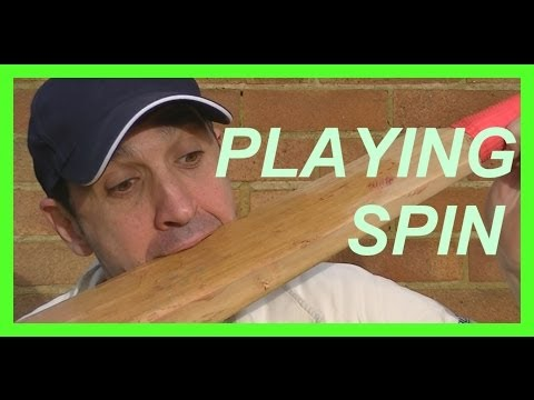 Hd Cricket Coaching Batting Tips Playing Spin Bowling Left Handed video