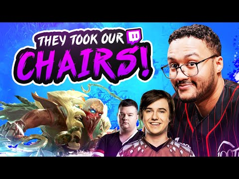 THEY TOOK OUR CHAIRS!? (Rumble at the Rift)   APHROMOO