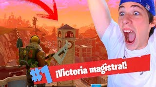 *PARTIDAZA* DESTROZANDO en MEDIO de la CIUDAD! FORTNITE Battle Royale