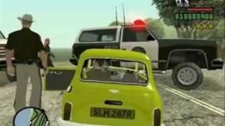 "Gta San Andreas Mr.Bean inseguito dai ""Ranger"""