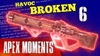 NEW WEAPON BROKE THE GAME!!! Havoc is broken! - Apex Moments #6