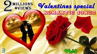 Valentines day Special Love songs   Super Hit Romantic Songs   Lovers day special