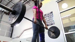 Meet the genetic beast of the WWE Performance Center, Bianca Blair